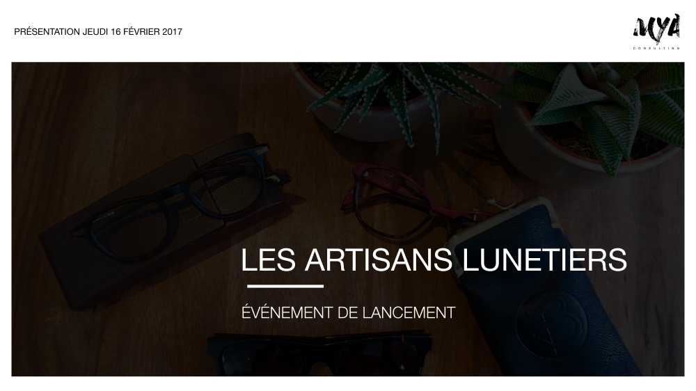 LES ARTISANS LUNETIERS - SCHOOL