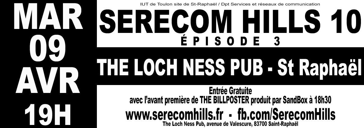 AFFICHES - SÉRÉCOM HILLS 10